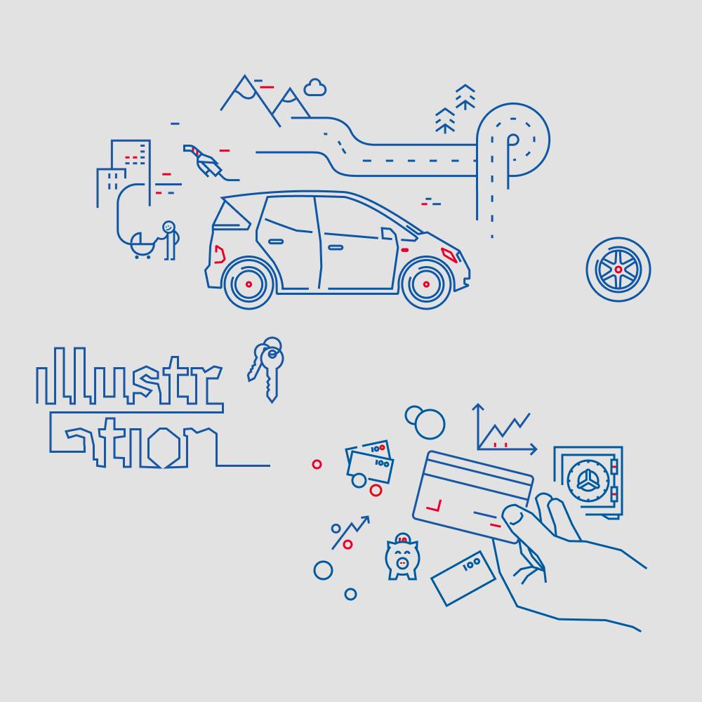 Länsförsäkringar illustrations