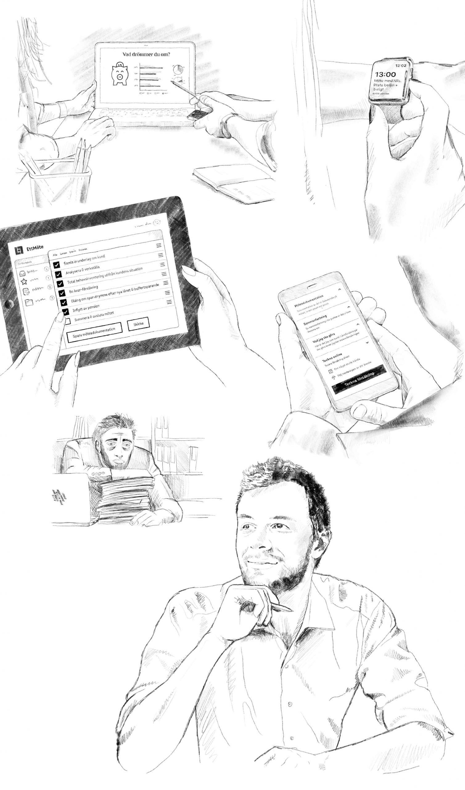 LF-konceptillustrationer